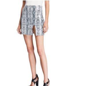 Endless Rose Snakeskin Pattern Sequin Skirt Size S